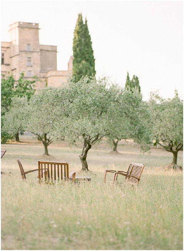 idyllic Provence village