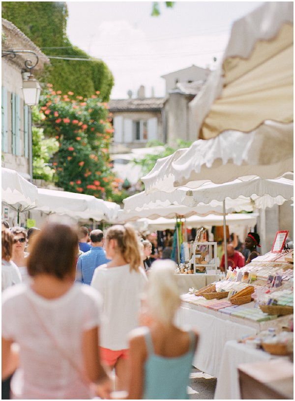 markets in Provence