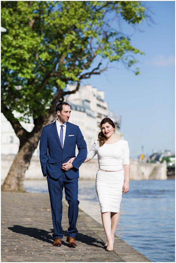 pre wedding session in Paris