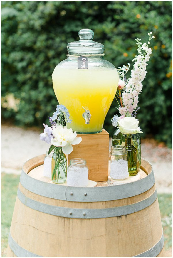 pretty drinks dispenser