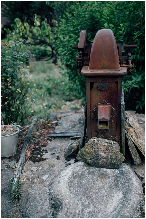 rustic well in France
