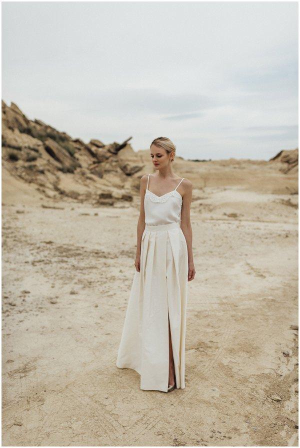 silk fashion inspired wedding dress