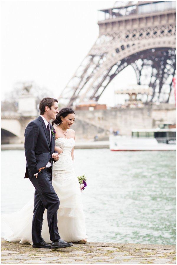 walking river Seine