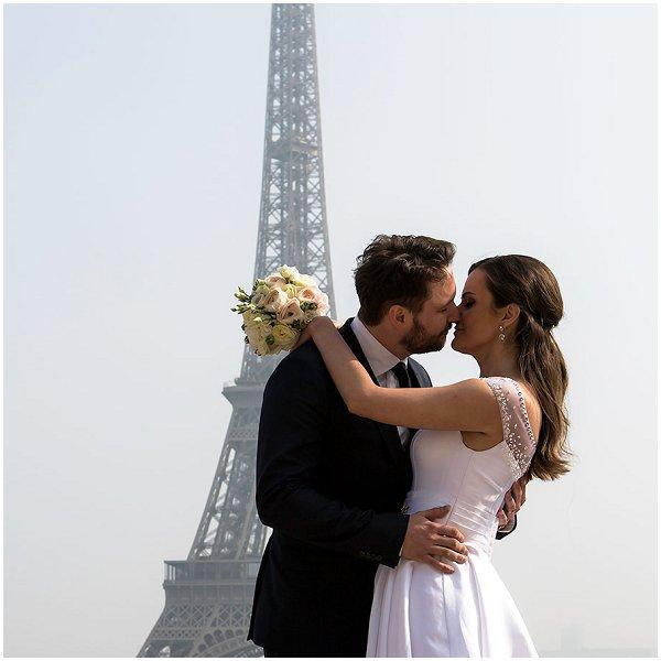wedding at the Eiffel Tower