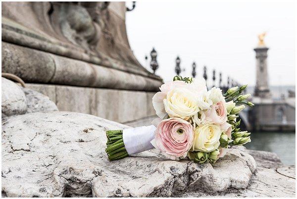 wedding bouquets Paris