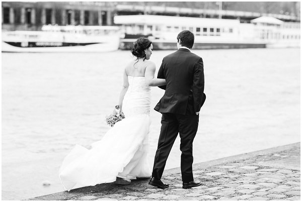 wedding day abroad