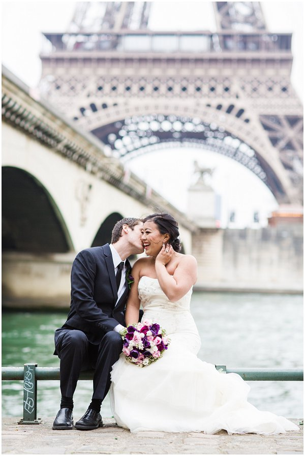 wedding day photosession in Paris