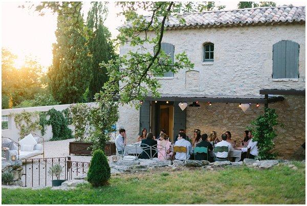 wedding farmhouse in Provence