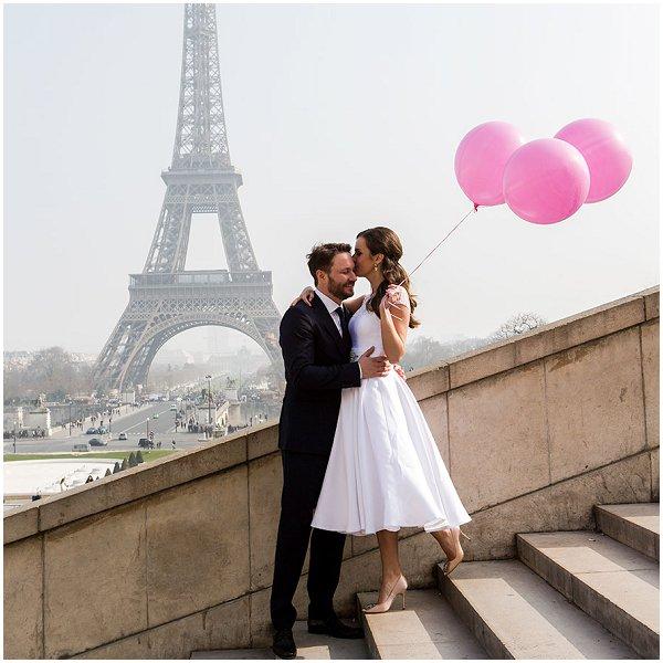 wedding portraits in Paris