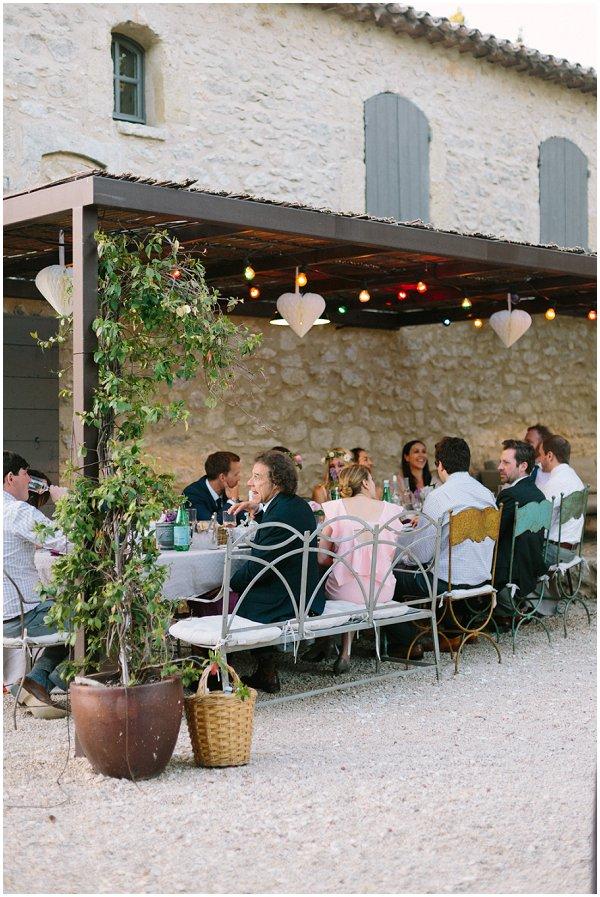 wedding reception South of France