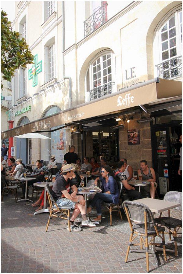 Bouffay in Nantes