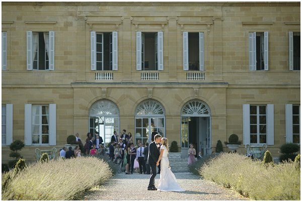 Chateau la Durantie real wedding