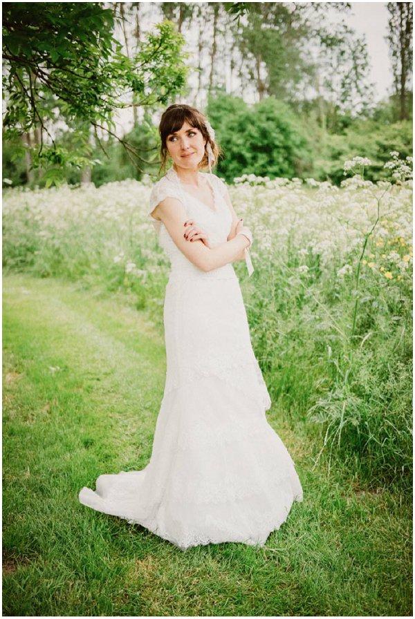 Cymbeline lace wedding dress