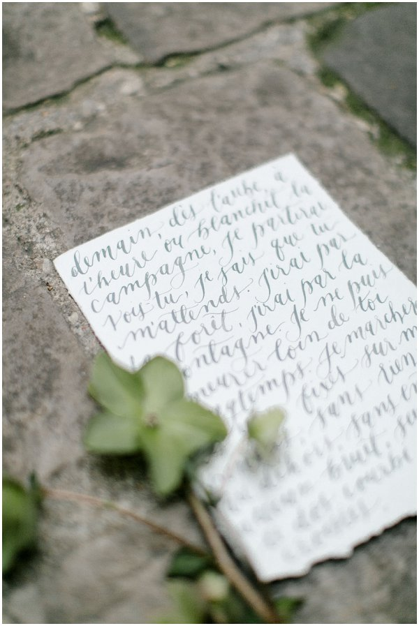 calligraphy love poem
