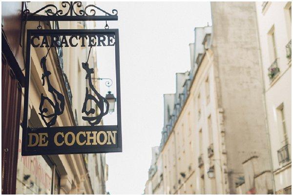 caractere de cochon Paris