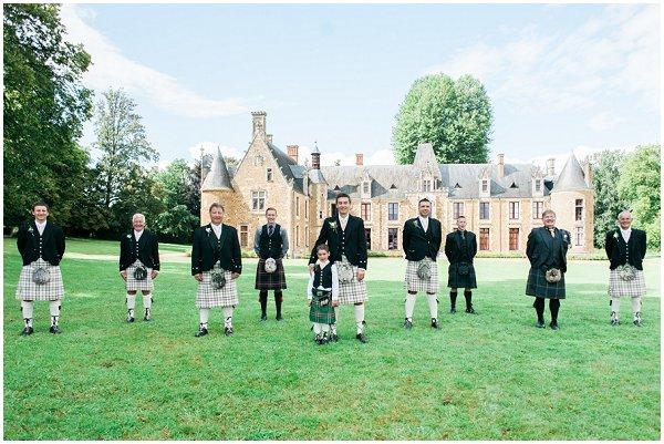 different kilts scottish wedding