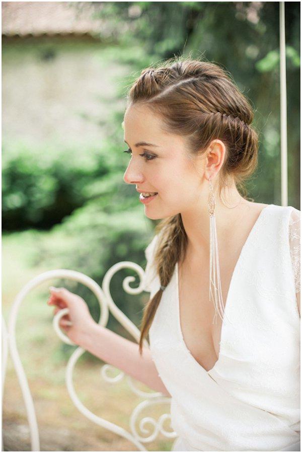 dramatic bridal jewelry