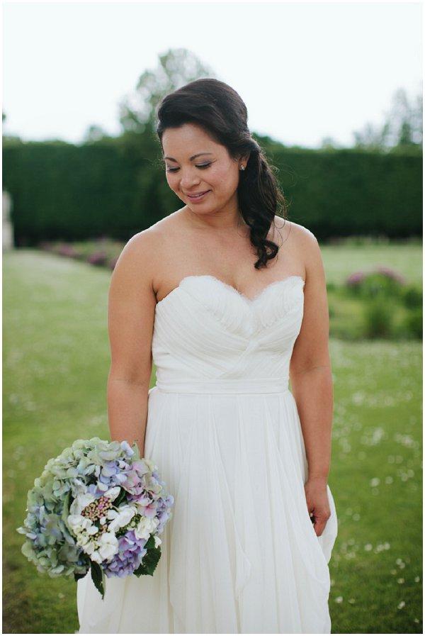 elopement bridal style