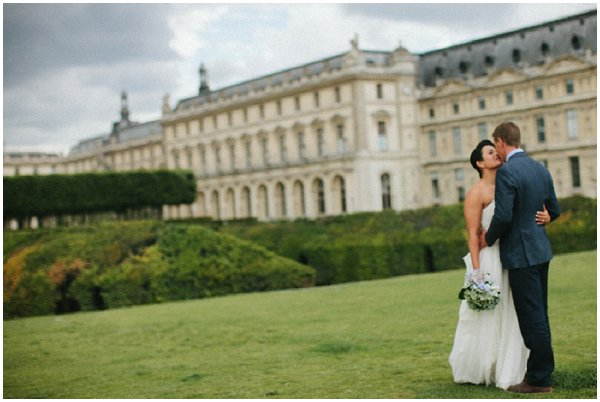 elopement planning in Paris