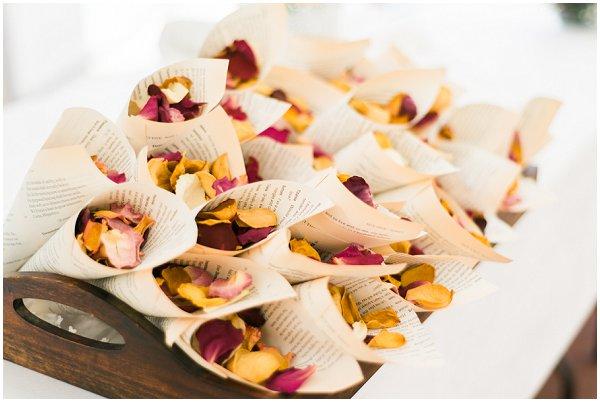 floral confetti