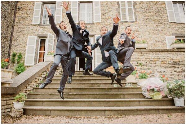 fun groom photos