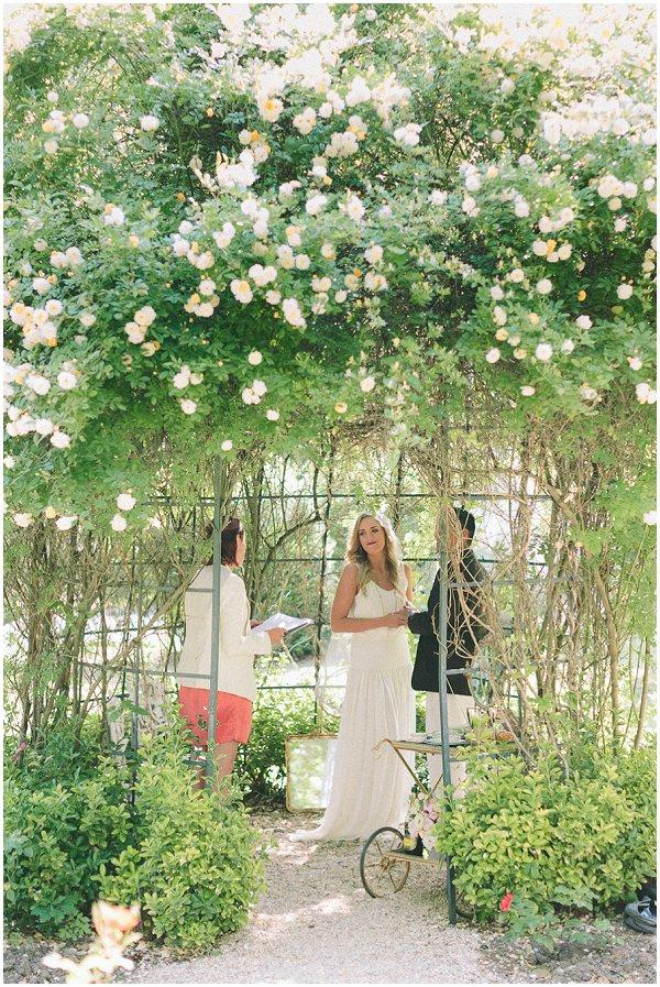 garden wedding gazebo
