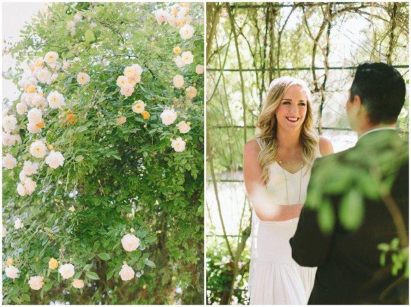 garden wedding in Paris