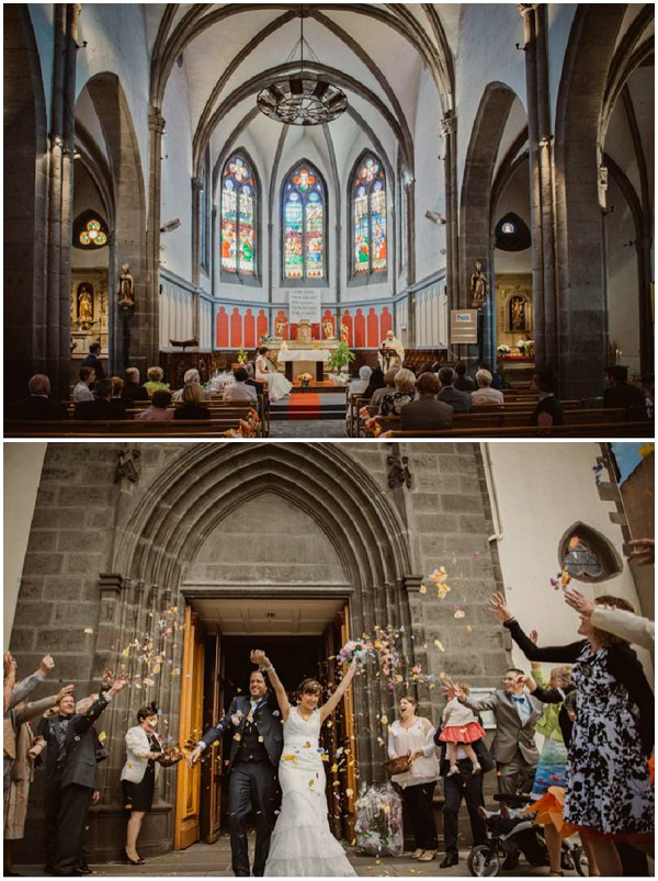 getting married in Church in France