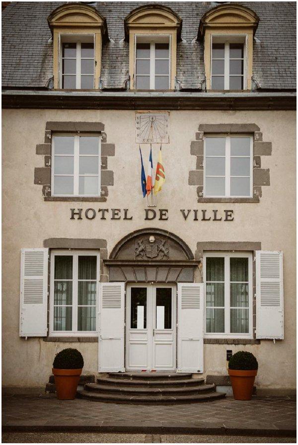 hotel de ville Auvergne