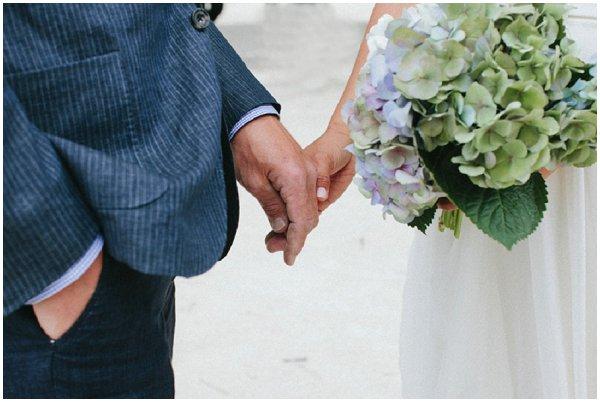 informal wedding bouquet