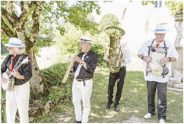jazz band near Bordeaux