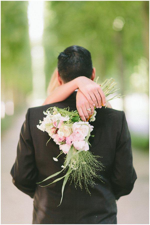 romantic wedding in Versailles