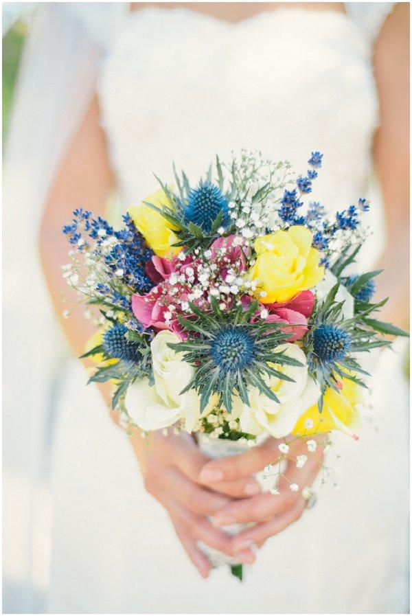 scottish bridal bouquet