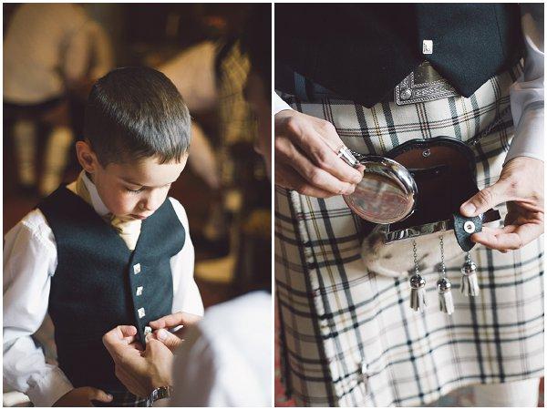 unique scottish wedding