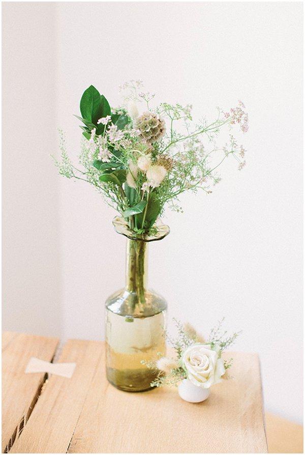 unusual wedding floral decor