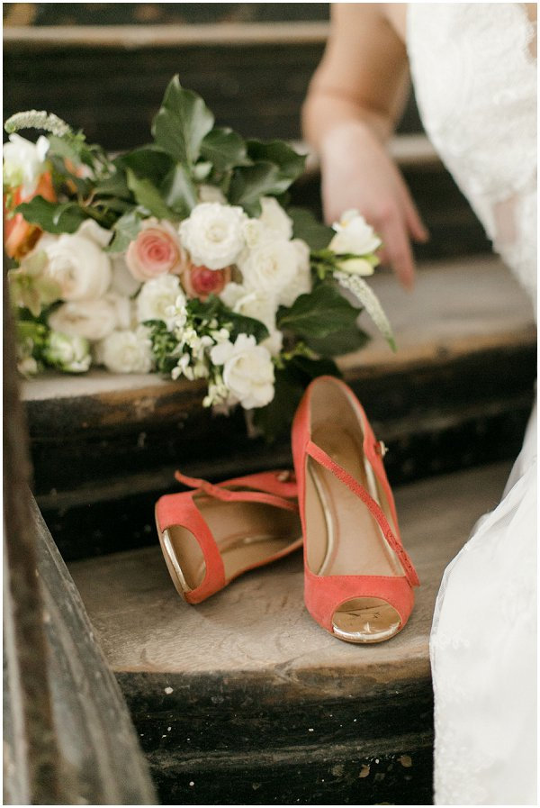 vintage style wedding shoes