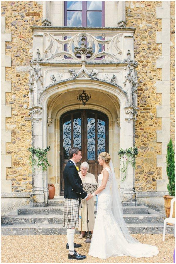 wedding Chateau near Le Mans