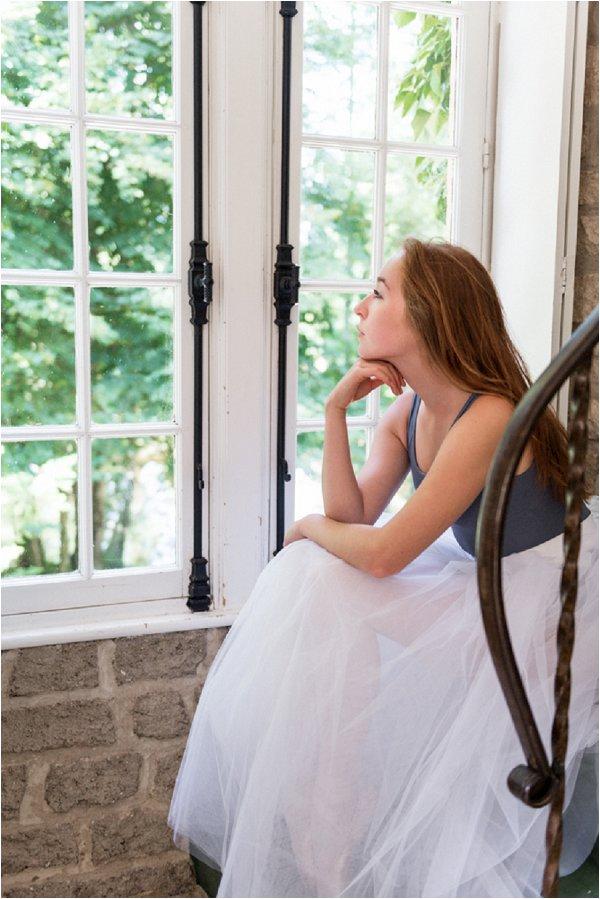 Ballet loving bride