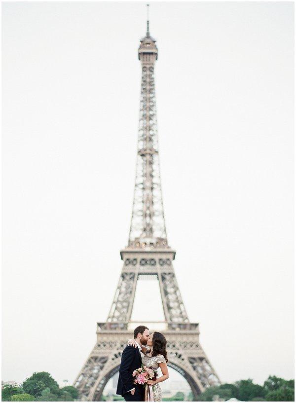 Eiffel Tower Anniversary Session