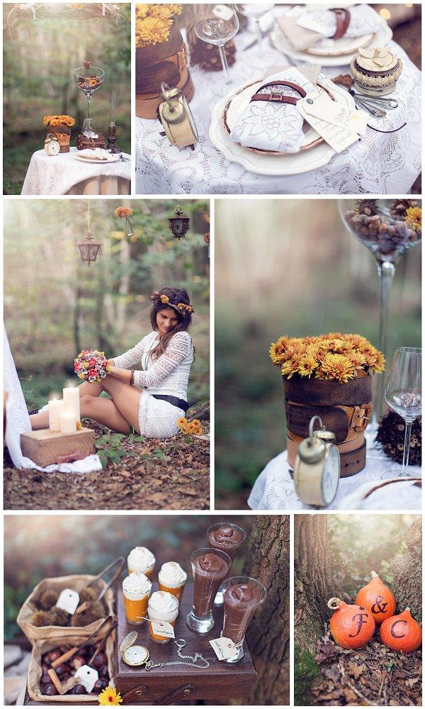 Fall French Wedding Inspiration Shoot