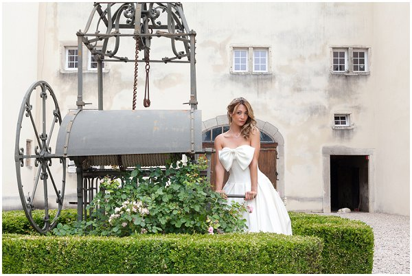 French Chateau bride