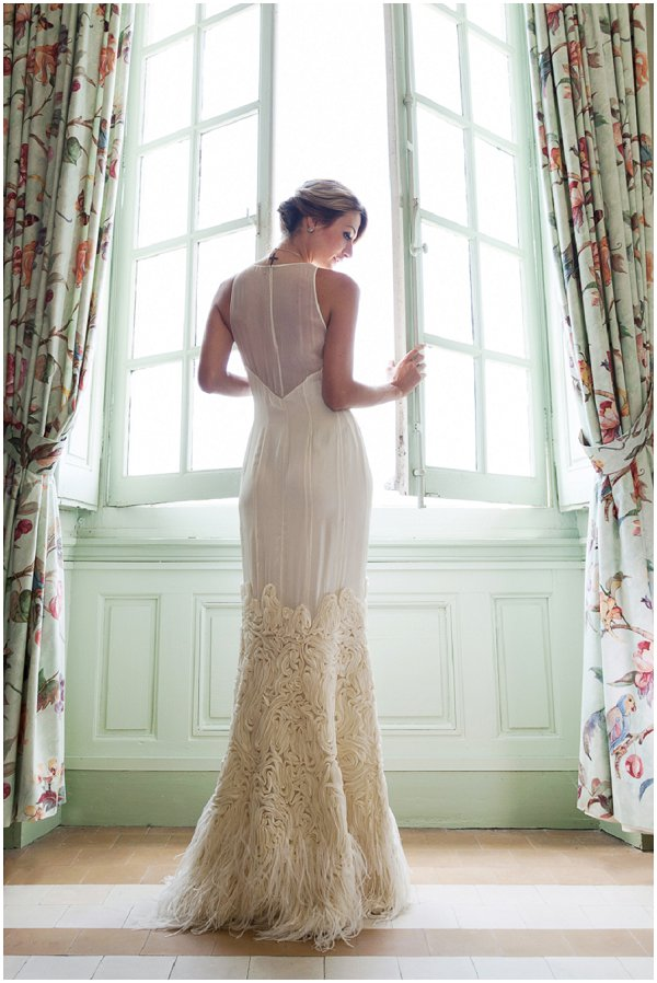French inspired wedding dress