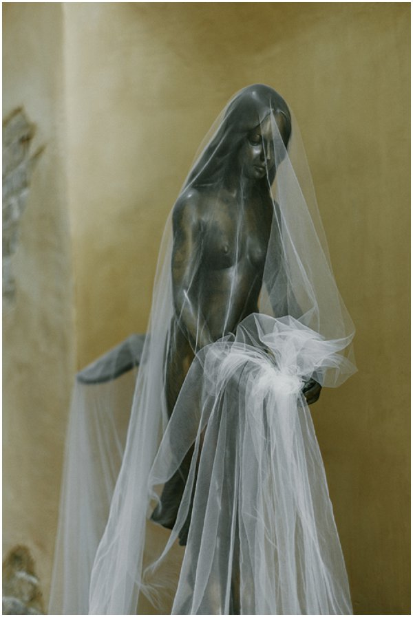 French wedding veil