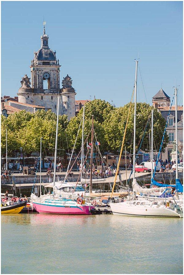 La Rochelle in Poitou-Charentes