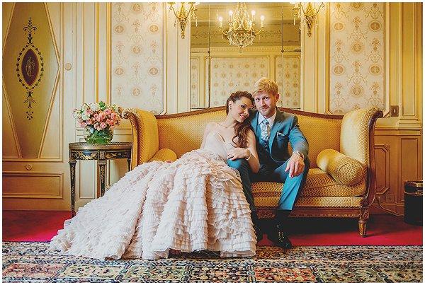 Mathias and Sofie wedding day Paris
