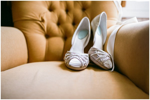 Merle & Morris bridal shoes