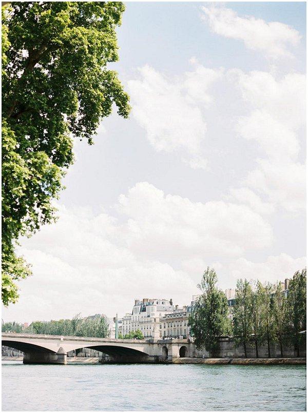 Paris and River Seine