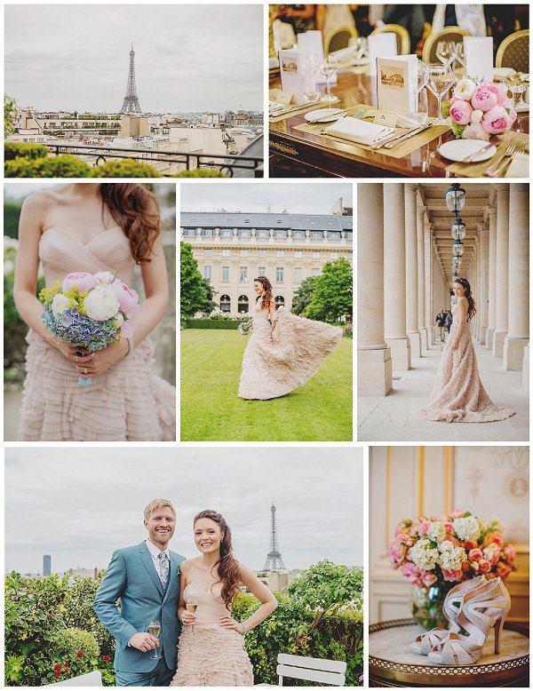 Private and Small wedding in Paris snapshot