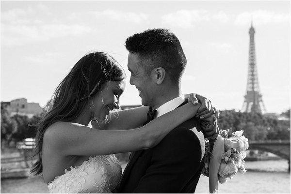 Sofie and David wedding in Paris