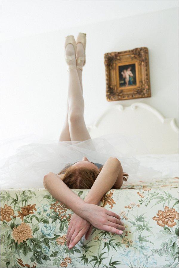 ballet boudoir session